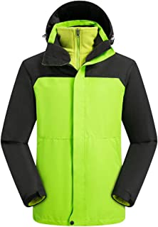 $27 Get FraftO Hoodie Jacket Men Mountaineering Outdoor Coat Breathable Sport Two-Piece Set Jacket Top M-3XL