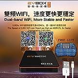 2020最新のEvbox Evpad PLUS TVボックス2.4G 5G WIFIネットワークHONGKONG TAIWAN CHINA JAPAN US LIVE CHANNE