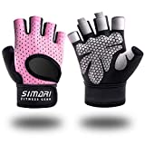 SIMARI Workout Gloves for Women Men,Training Gloves with Wrist Support for Fitness Exercise Weight Lifting Gym Lifts,Made of Microfiber SMRG905
