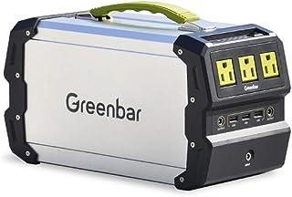 MSG ZY Central eléctrica portátil, generador portátil de 220V / 400W para Exteriores, generador Solar (Panel Solar Opcional) Energía móvil para Acampar al Aire Libre,97200mAh/A