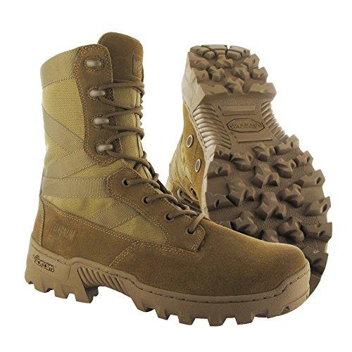 Hi-Tec - Magnum Spartan XTB Coyote Dschungel Djungle Boots Stiefel Einsatz Beige