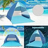 Zoom IMG-2 fenvella tenda da spiaggia mare