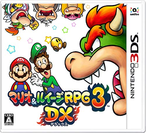 任天堂『マリオ&ルイージRPG3 DX』