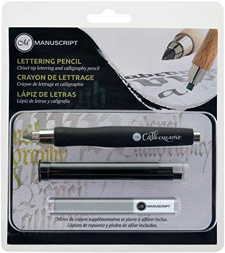Manuscript CalliCreative Lettering Pencil Set 3/Pkg-Black