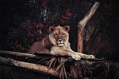 Rompecabezas Juguetes Educativos Para Adultos Puzzle 1000 Tiger Para Niños