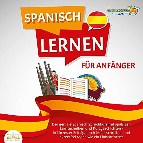 SPANISCH LERNEN FÜR ANFÄNGER Titelbild