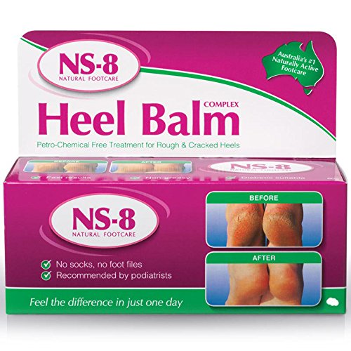 03 Tube * 20gram - Heel Balm NS-8,Moisturizing and Exfoliating Foot...
