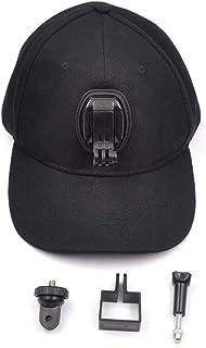 Rouku Gimbal Camera Extension Parts Sombrero Negro para Insta360 One/One X/EVO para Bicicletas de Senderismo de Escalada de Viaje al Aire Libre