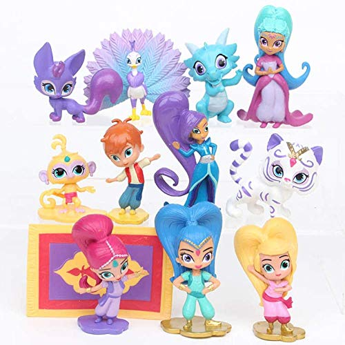 12 Pcs Shimmer and Shine Toys - Act…