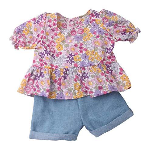 DUORUI Ropa de Muñeca Traje de Verano Camiseta Pantalones Cortos de Pantalones para...