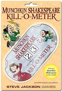 Steve Jackson Games Munchkin Shakespeare Kill-O-Meter