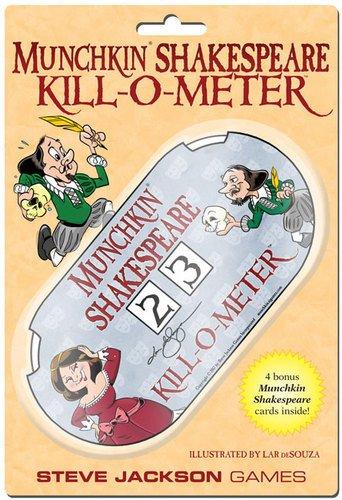 Steve Jackson Games sjg05617No Munchkin Shakespeare Kill-o-Meter, Gioco