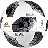 adidas FIFA Fußball-Weltmeisterschaft Junior Ball White/Black/Silvmt, 5