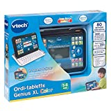 Vtech - 155505 - Ordi-tablette - Genius Xl - Noir - Version FR
