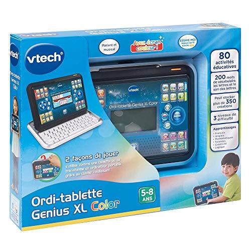 Vtech - 155505 - Ordi-tablette - Genius Xl - Noir - Version FR