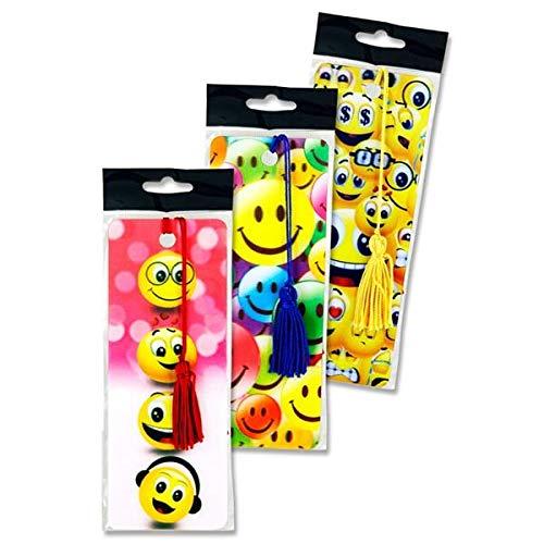 Premier cancelleria W21195163D Emotionery Emoji segnalibri (confezione da 12)