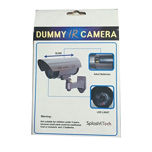 Security Outdoor Waterproof Fake/dummy Camera, Pack of 2