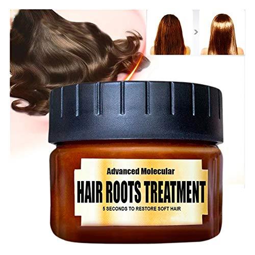 Soins et Masques Ingrédients Botaniques Réparatrice Profonde, Masque capillaire Traitement, Hair Mask, Masque cheveux secs et abimés l'huile d'argan pour Tous les Types de Cheveux (1PC 60ml)
