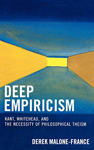 Compare Textbook Prices for Deep Empiricism: Kant, Whitehead, and the Necessity of Philosophical Theism  ISBN 9780739116050 by Malone-France, Derek