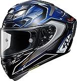 Shoei X-Spirit III Aerodyne - Casco integral para motocicleta, TC-2, S