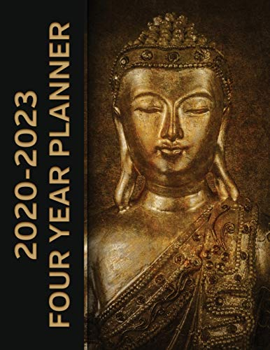 2020 - 2023 Four Year Planner: Buddha Meditation Monthly Calendar, Planner, Notebook and More!