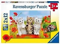 ラベンスバーガー(Ravensburger) ジグソーパズル 07626 0 子猫の冒険(12ピース×2)