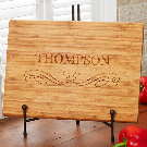 Classic Family 10-Inch x 14-Inch Bamboo Cutting Board | Bed Bath & Beyond