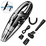 Handheld Car Vacuum Cleaner Cordless, DokFin 120W High Power USB Rechargeable Mini Portable