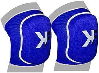 KIKFIT MMA Genouillère Arts Martiaux Support Rembourré Protège Volley-Ball Catch Kick Boxing Vêtement de Travail