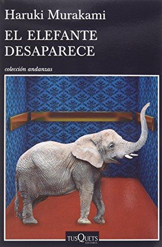 Pack: Libro El Elefante Desaparece + Camiseta Keep Calm Murakami