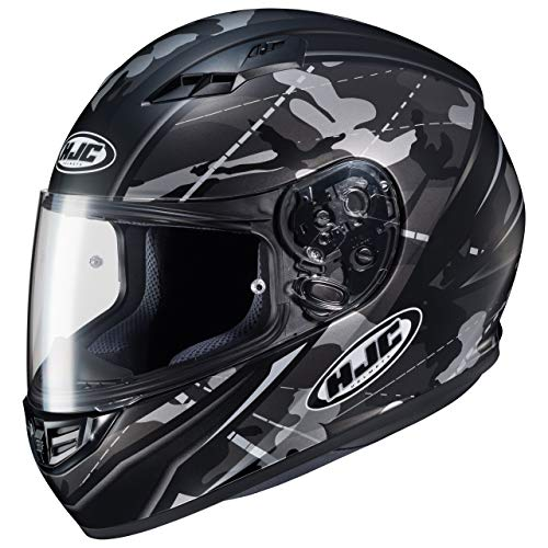 HJC Motorradhelm - CS 15 Songtan MC5SF, Noir/Transparent, Größe M