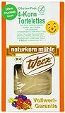 Werz 4-Korn-Vollkorn-Tortelettes glutenfrei, 2er Pack (2 x 140 g) - Bio