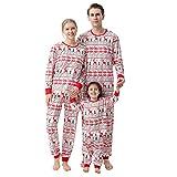 LovelyAngel Familia - Pijama de bebé para niños y niñas, de manga larga + pantalón set de pijamas para la familia a juego