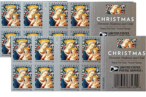 Florentine Madonna and Child Forever Stamps Scott 5143b