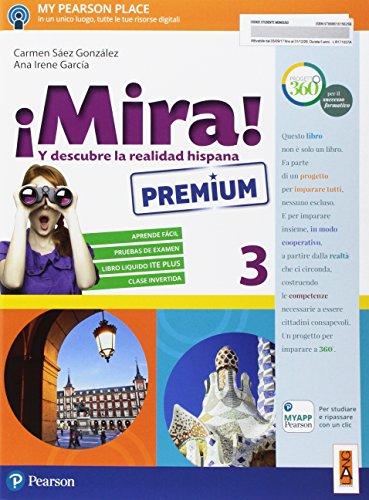 ¡Mira! Ediz. premium. Per la Scuola media. Con e-book. Con espansione online [Lingua spagnola]: 3