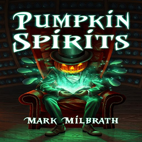 Pumpkin Spirits audiobook cover art
