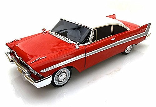 1958 Plymouth Fury Christine 1/18 by Autoworld AWSS102