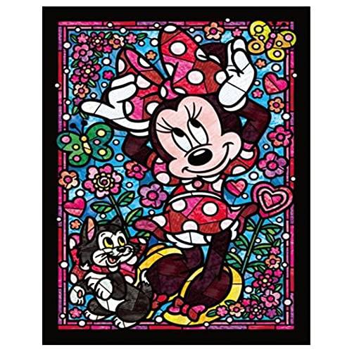 Ronda 5D DIY diamante pintura conjunto personaje de dibujos animados bordado de diamantes punto de cruz mosaico venta decoración del hogar regalo A2 30x40cm