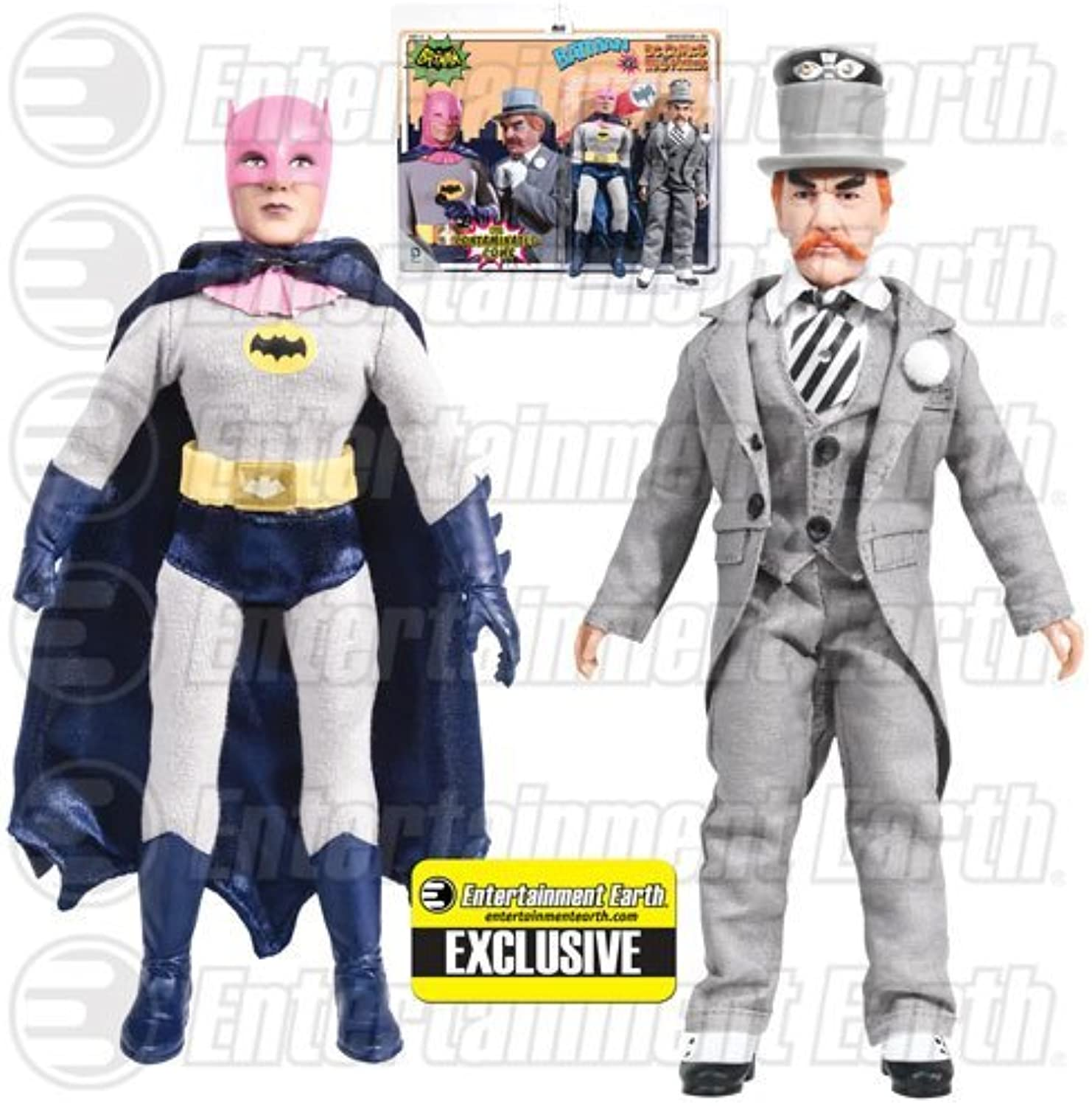 Batman Contaminated Cowl vs. Mad Hatter Figures EE Exclusive by Figures Toy Company