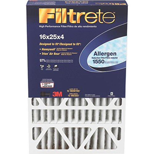 16x 25x 4Filtrete High performance Furnace filtro, filtro, Merv 11, da 3m