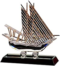 Crystal Asfour 200/232 Crystal Boat Decor - Transparent