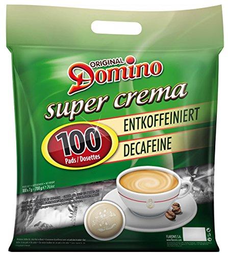 Domino Super Crema Entkoffeiniert 100 Pads