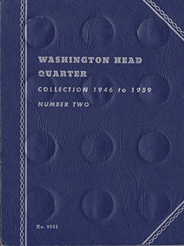 1946-DATE (1959) WASHINGTON HEAD QUARTER Whitman No 9031 COIN; ALBUM, BINDER, BOARD, BOOK, CARD, COLLECTION, FOLDER…