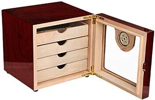 LBLMSB Cigar Box, Mellow Cedar Wood Four-Layer Large-Capacity Cigar Humidor, Cigarette Case Latest Styles