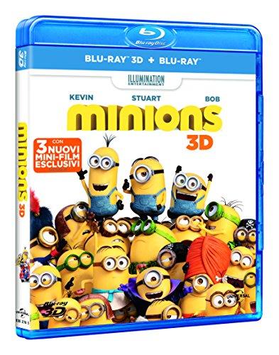 Minions (3D) (Blu-Ray+Blu-Ray 3D) [Blu-ray]