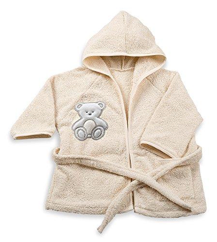 Italbaby Peignoir Coton Bouclette, 6 à 18 mois, Beige