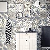 Catchart Retro Azulejos de cerámica Pegatinas de Pared baño Cocina Azulejos...