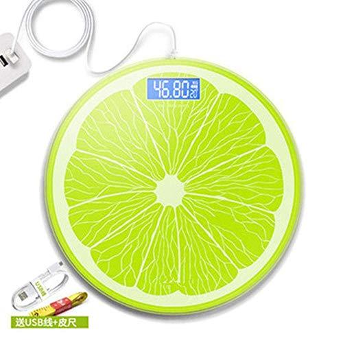 LQH Waage Gewicht Waage, Menschliches Körper Home Health Badezimmer Gleichgewicht Waagen, elektronische Präzisions, 180Kg, Runde