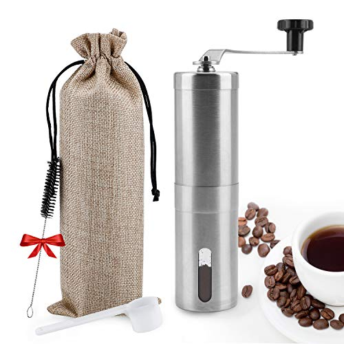 Manual Coffee Grinder,UNIFUN Bur...