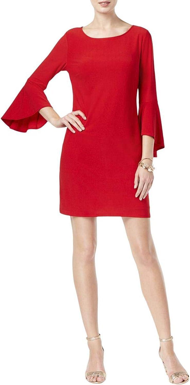 INC Womens Bell Sleeve ALine Dress